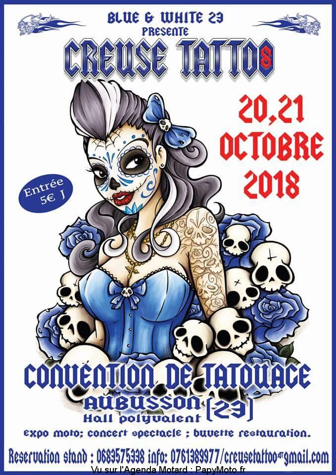 Creuse Tatoo 8 -Blue & White 23 – Aubusson (23)